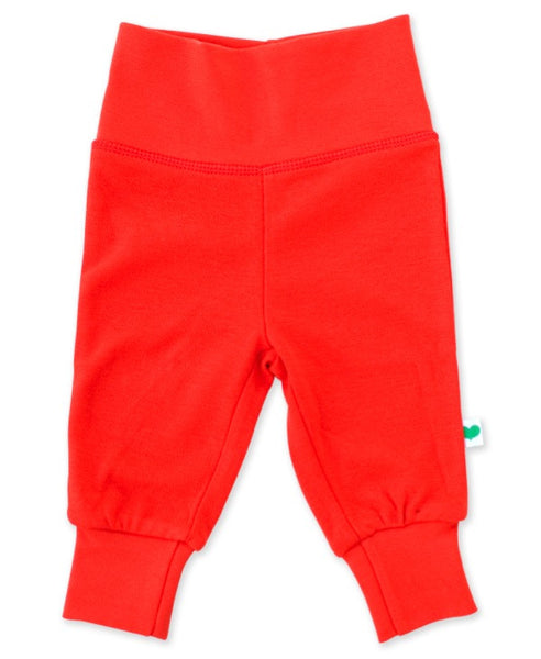 Sture & Lisa organic red baby pants