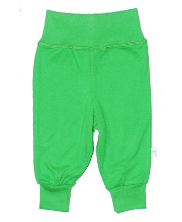 Sture & Lisa organic green baby pants