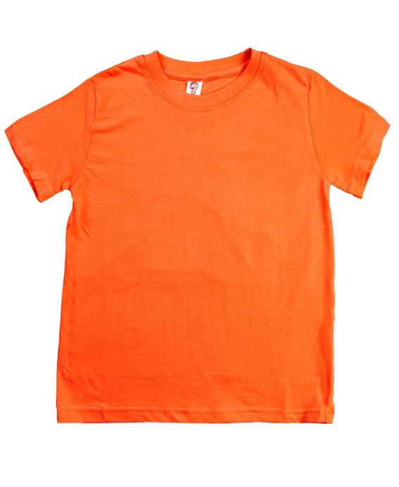 Zee Spot papaya orange t-shirt