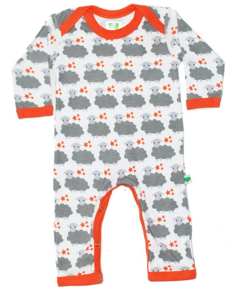Sture & Lisa organic sheep romper