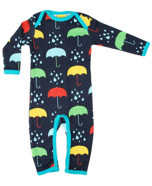DUNS Sweden very dark blue umbrellas romper