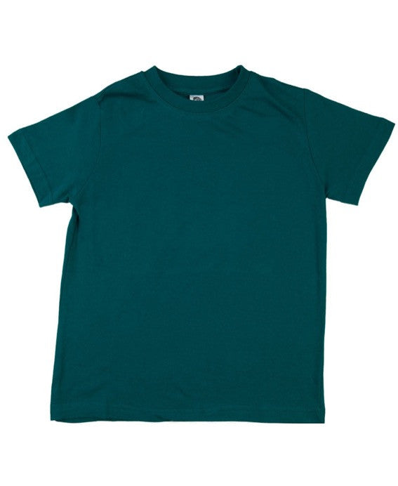 Zee Spot deep sea teal t-shirt