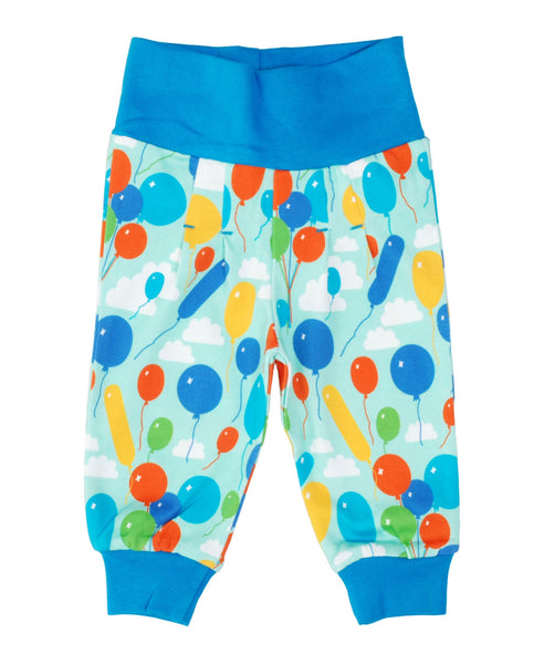 DUNS Sweden turquoise balloons baby trousers