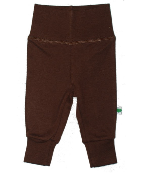 Sture & Lisa organic brown baby pants