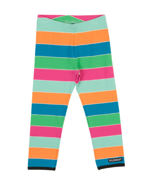 Villervalla multicolour Havana stripe leggings