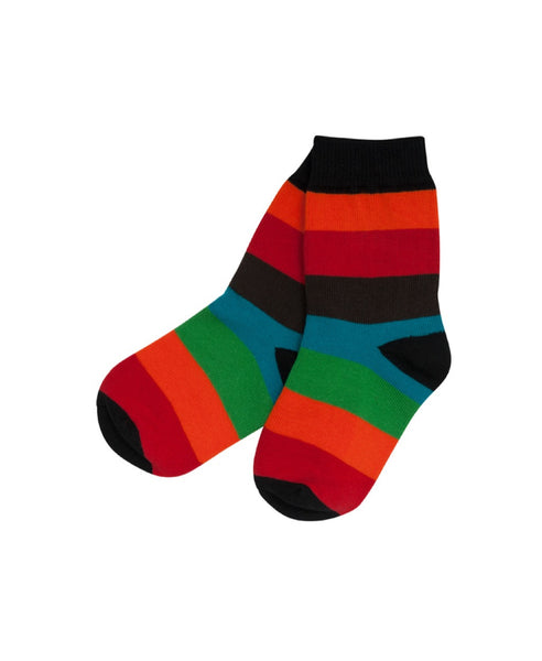 Villervalla multicolour Lima stripe socks
