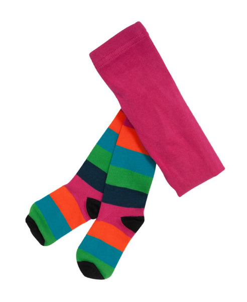 Villervalla multicolour Vienna stripe tights