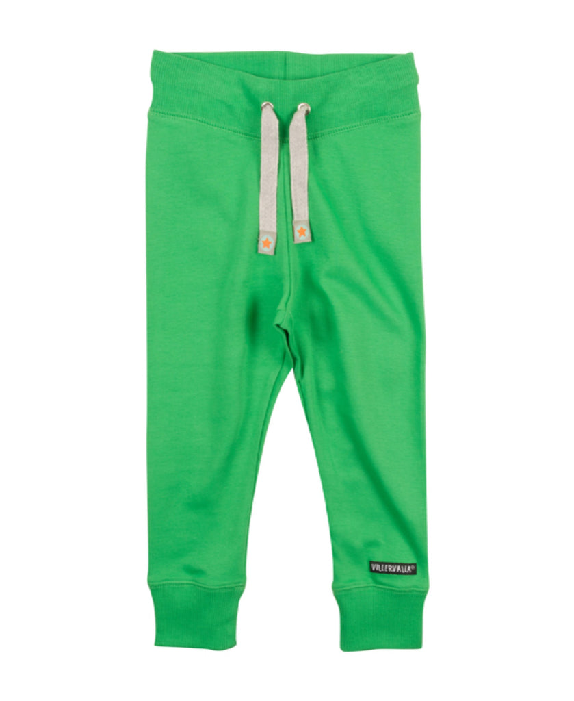 Villervalla peacock green jogging pants