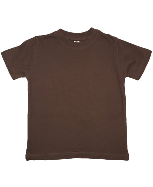 Zee Spot chocolate brown t-shirt