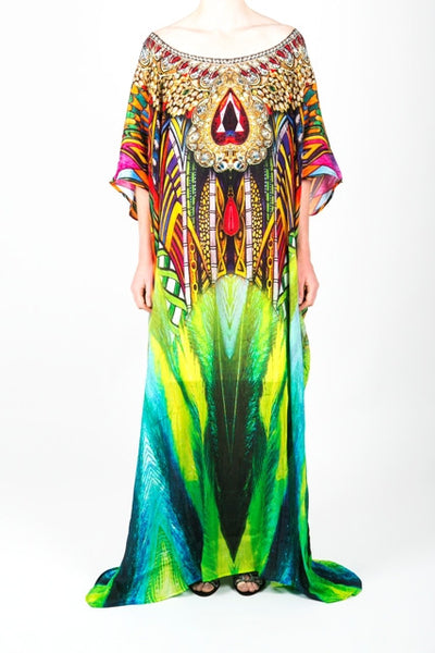 Embellished Kaftan Dress Design KC-SK107-L