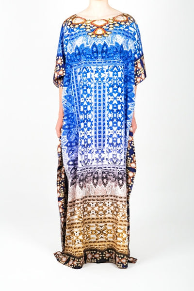 Embellished Long Kaftan Dress Design KC-KF263C-L