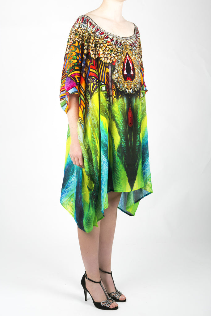 Embellished Kaftan Dress Design KC-SK107-S