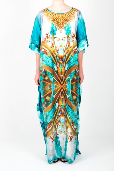 Embellished Long Kaftan Dress Design KC-KF070A-L