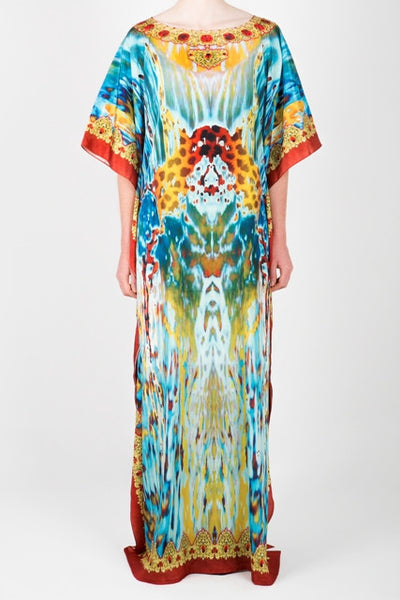 Embellished Long Kaftan Dress Design KC-KF33A-L