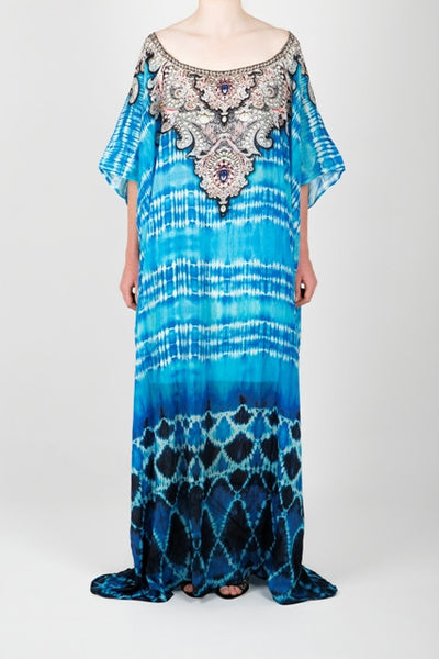 Embellished Kaftan Dress Design KC-SK75A-L