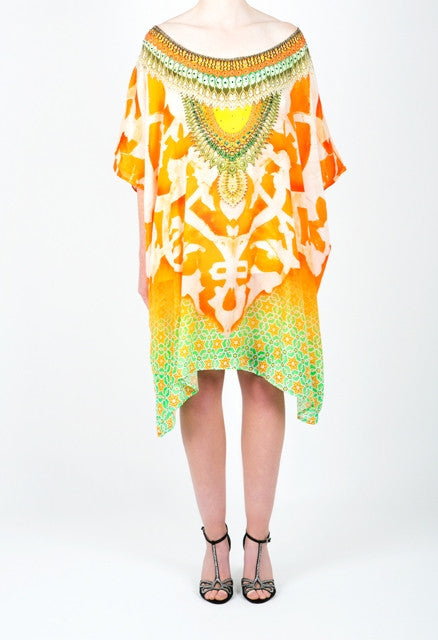 Embellished Kaftan Dress Design KC-K191-S