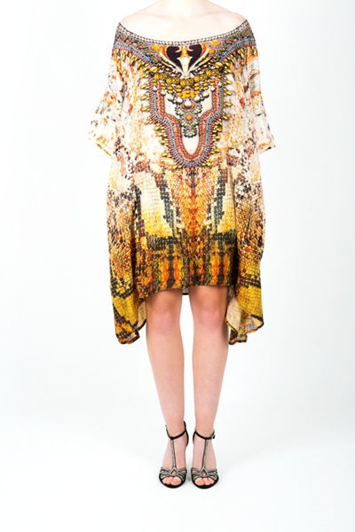 Embellished Kaftan Dress Design KC-SK70A-S