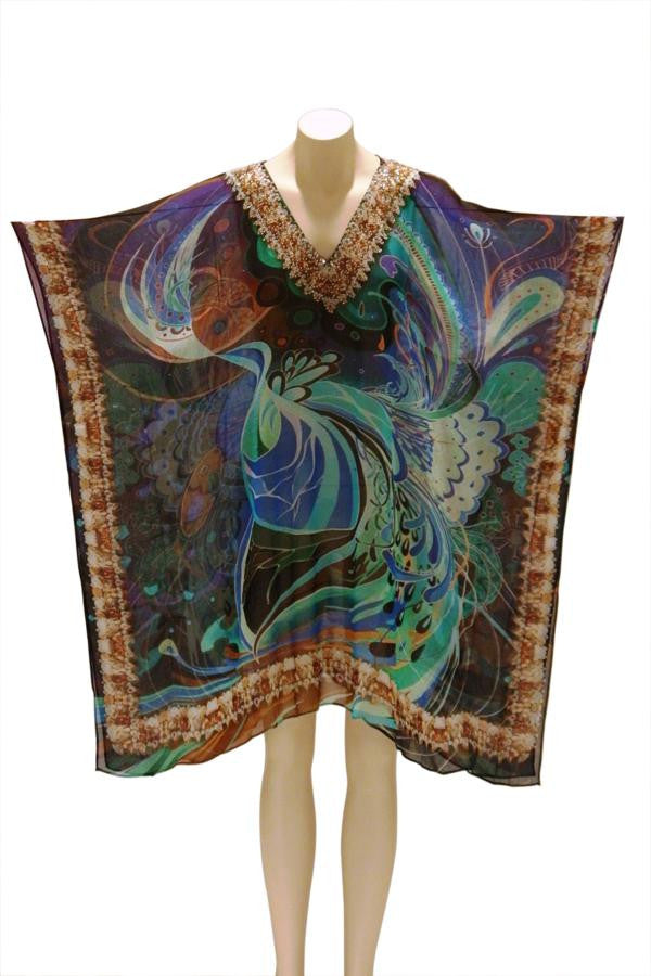 Galaxy Digital Print Kaftan