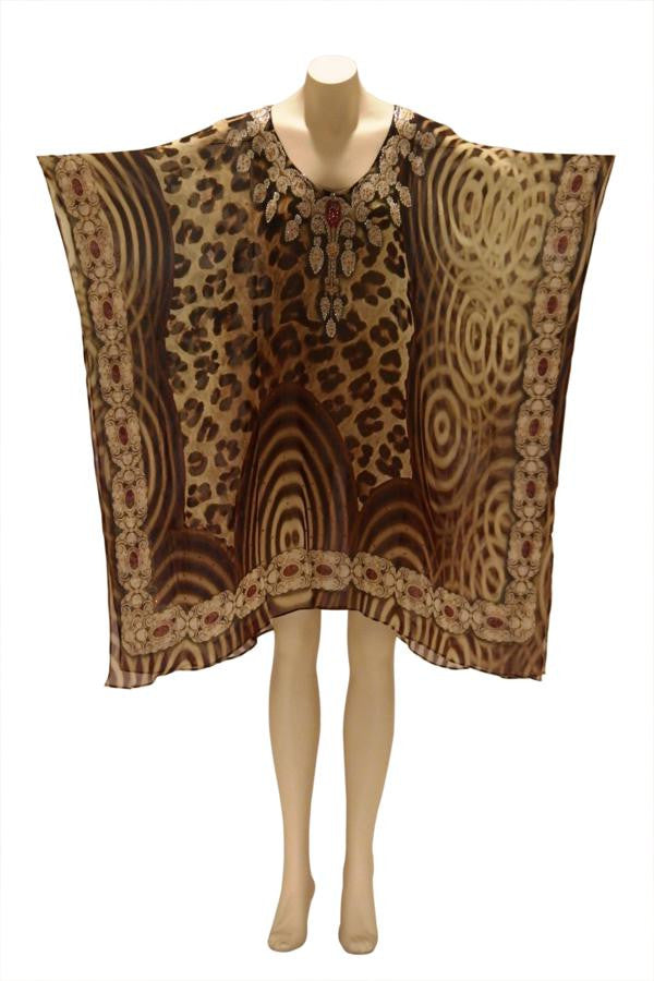 Jungle Fever Digital Print Kaftan