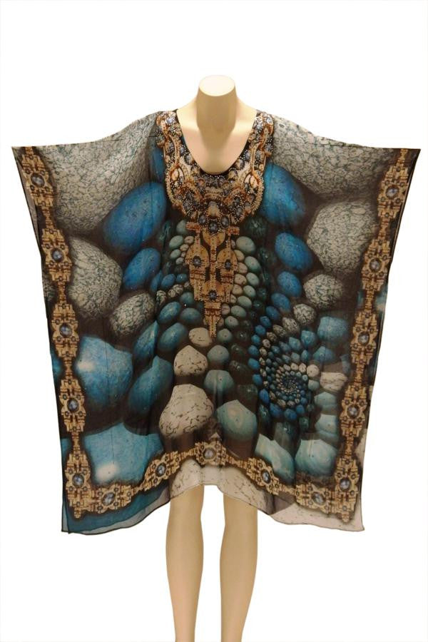 Stone River Digital Print Kaftan