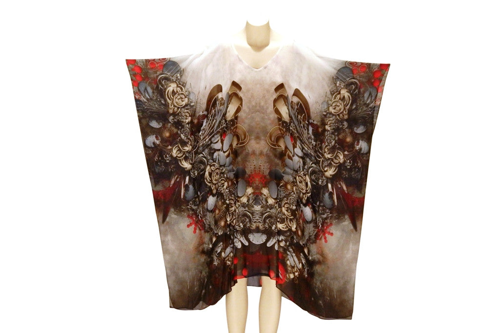 The Lady's Boudoir Digital Print Kaftan