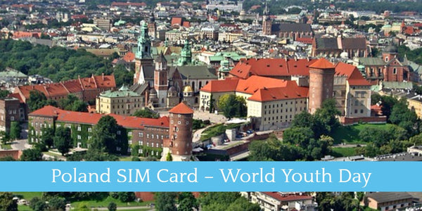 PoloSIM Poland SIM Card – World Youth Day