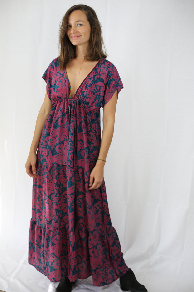 Boho Maxi Dress - Romantic Summer Nights
