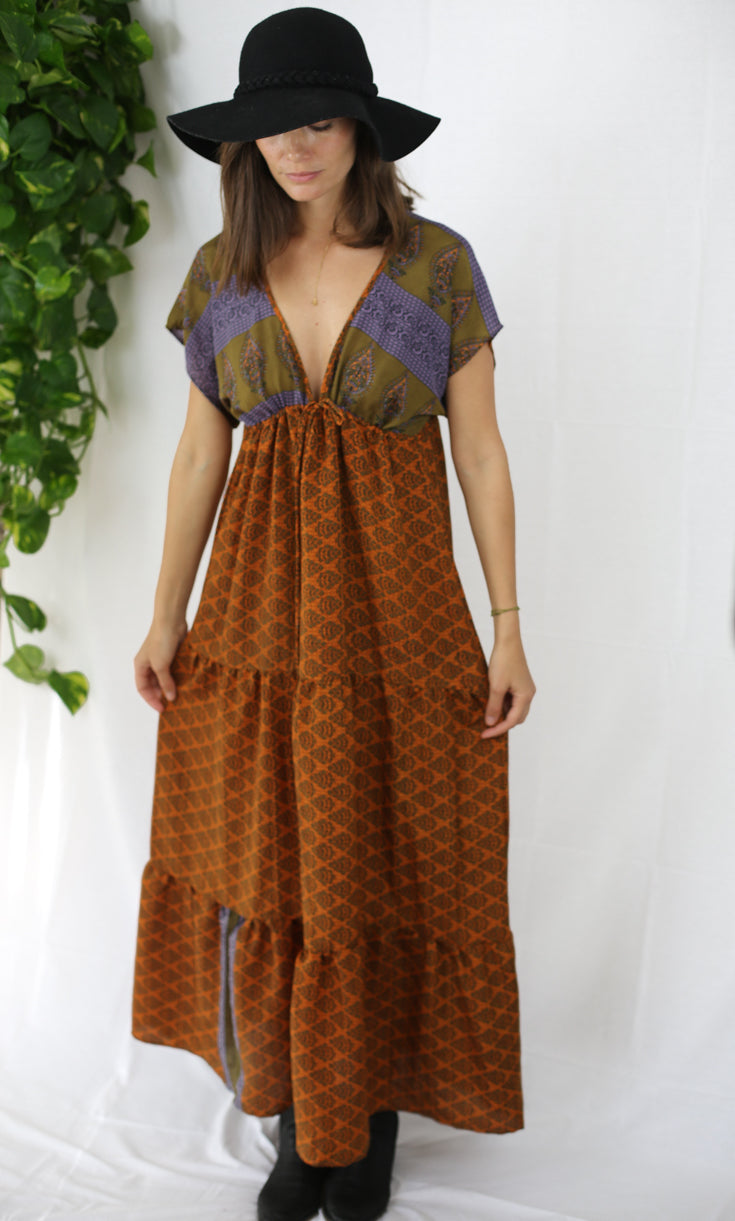 Boho Maxi Dress - Herbalist at Heart