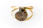 """Clara"" Fossilized Shell Bracelet - Blonde Vagabond"