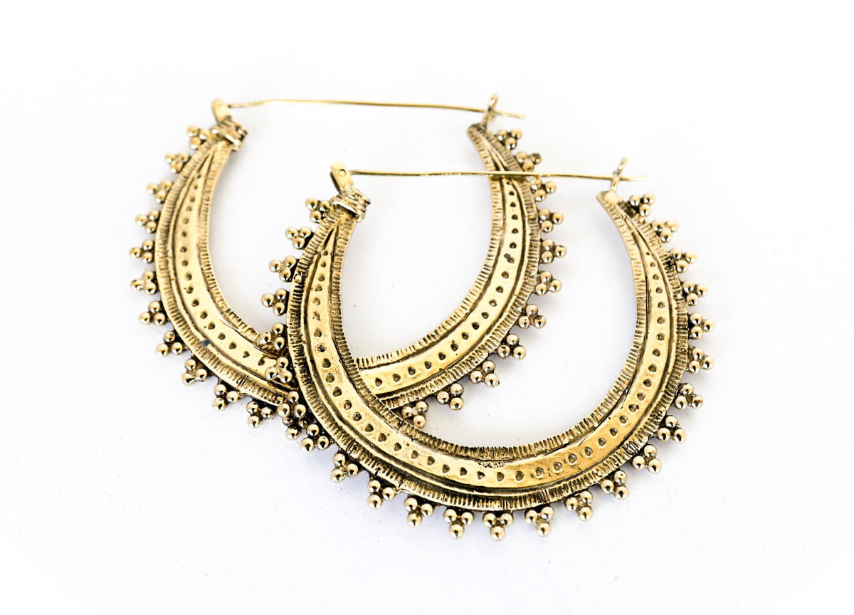 Prakriti Tribal Earrings - Blonde Vagabond