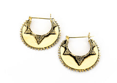 Devya Tribal Hoops - Blonde Vagabond