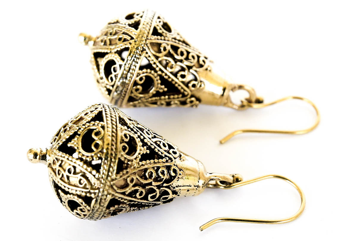 Amona Snake Charmer Earrings - Blonde Vagabond