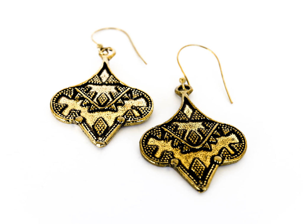 Oyea Earrings - Blonde Vagabond