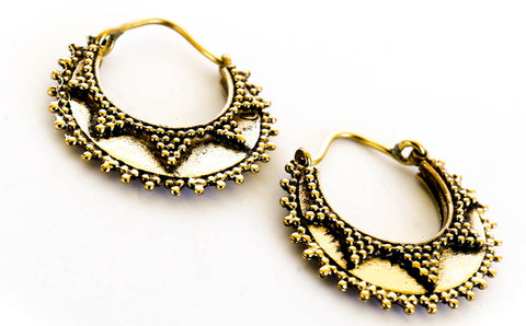 Devya Mini Tribal Hoops - Blonde Vagabond