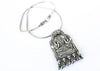 """Lakshmi Blessing"" Bohemian Silver Necklace - Blonde Vagabond"