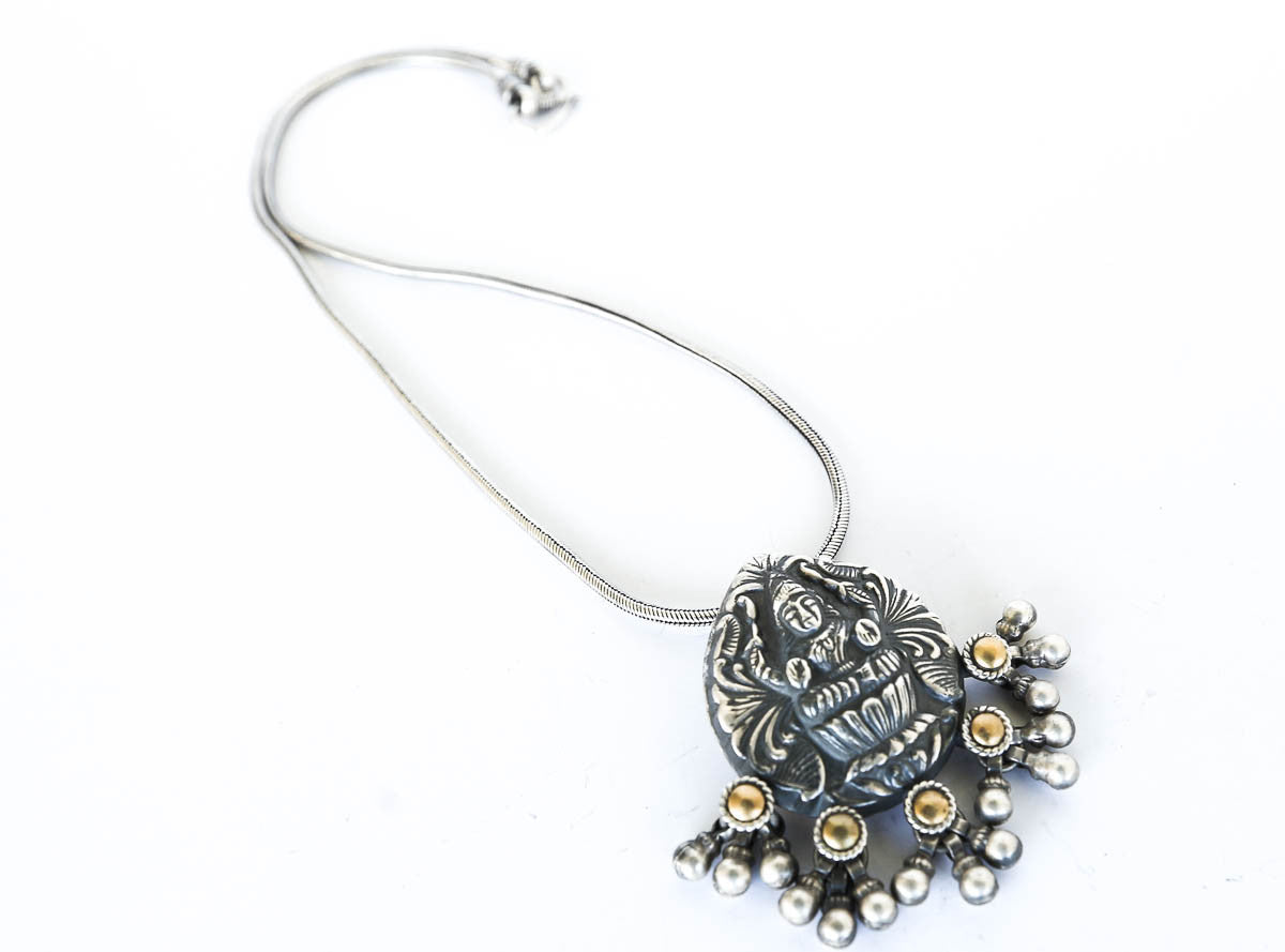 Love of the Goddess Silver Necklace - Blonde Vagabond