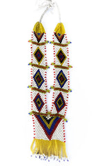 tribal beaded necklace