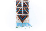 """Reza"" Handmade Beaded Tribal Necklace - Blonde Vagabond"