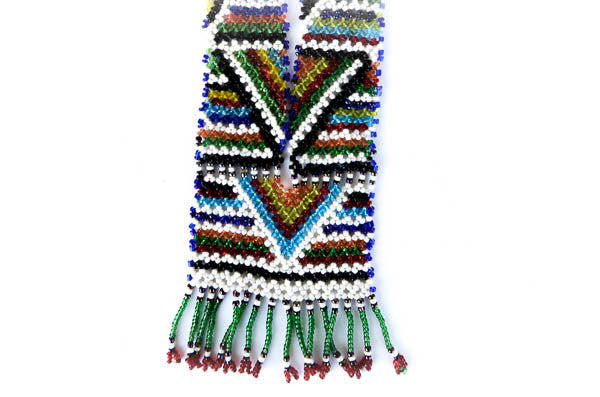 colorful tribal necklace