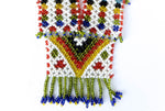 """Rashida"" Handmade Beaded Tribal Necklace - Blonde Vagabond"