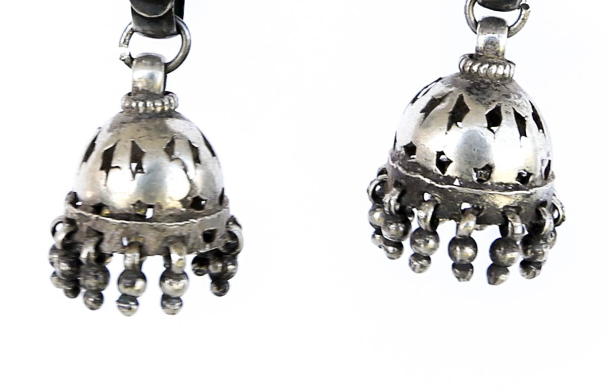 Devadasi Silver Earrings - Blonde Vagabond