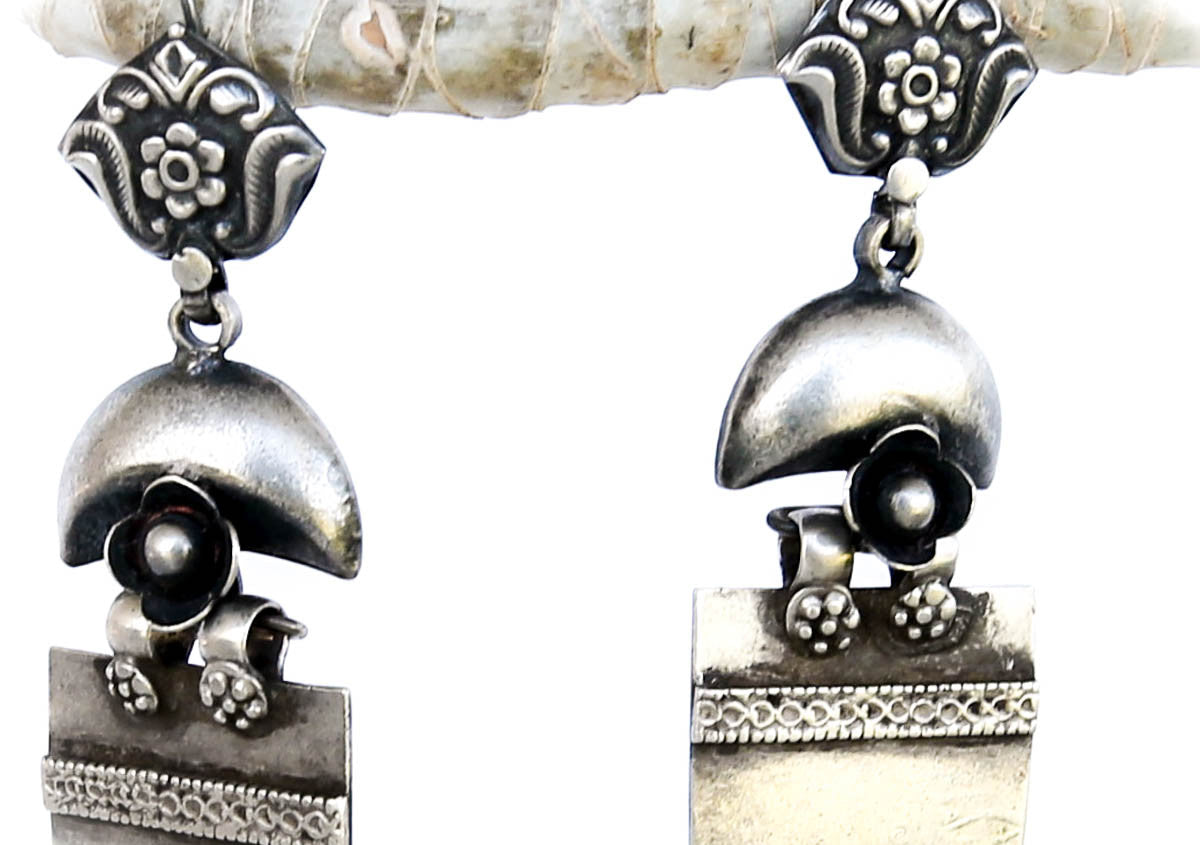 Mystic Belle Earrings Silver - Blonde Vagabond