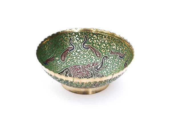 Green Elephant Ritual Bowl - Blonde Vagabond