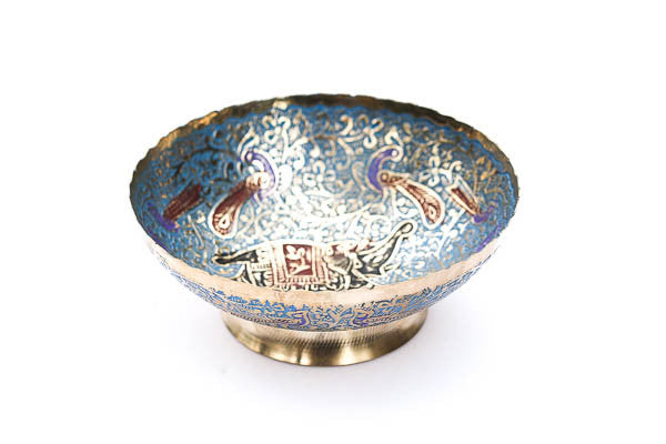 Blue Elephant Bowl - Blonde Vagabond