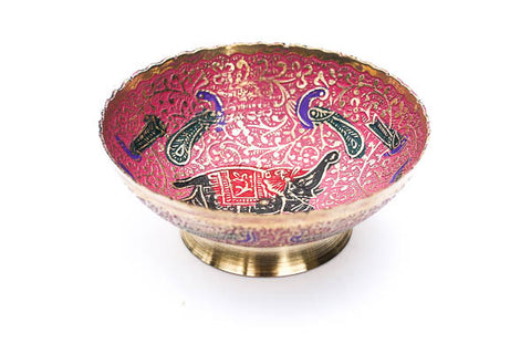 Red Elephant Ritual Bowl - Blonde Vagabond