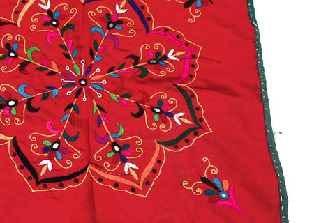 Shakti Red Altar Cloth - Blonde Vagabond