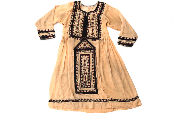HAND EMBROIDERED BALOCHI/AFGHANI TRIBAL DRESS - Meadow Child - Blonde Vagabond