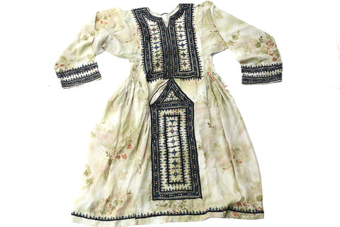 HAND EMBROIDERED BALOCHI/AFGHANI BOHO DRESS - EARTH MAMA