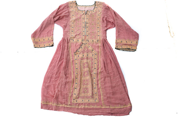 HAND EMBROIDERED BALOCHI/AFGHANI TRIBAL DRESS - SWEET CHEEKS - Blonde Vagabond