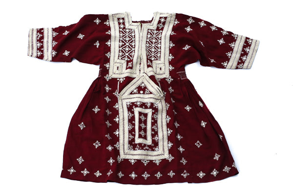 HAND EMBROIDERED BALOCHI/AFGHANI TRIBAL DRESS - CHILD'S PLAY - Blonde Vagabond